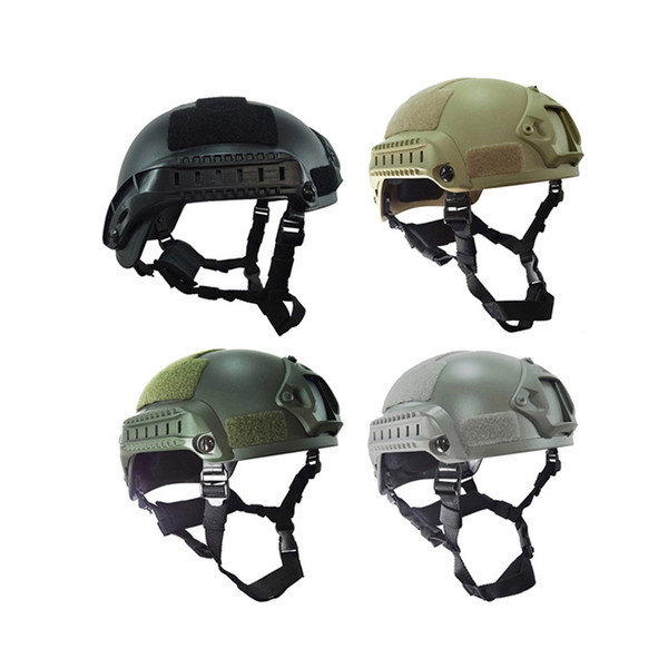 best selling Outdoor CS Equipment Airsoft Paintabll Shooting Helmet Head Protection Gear Tactical Fast Helmet Mich 2001 Helmet NO01-035