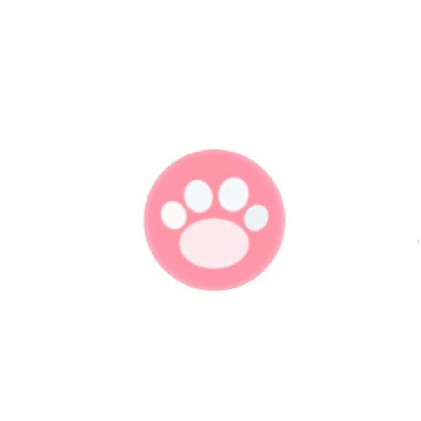 Кот когти-розовый белый