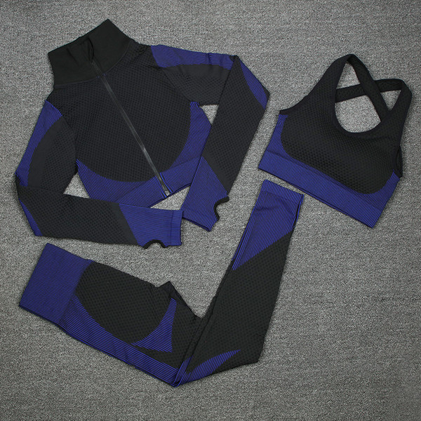 Blue Set 3 Pcs