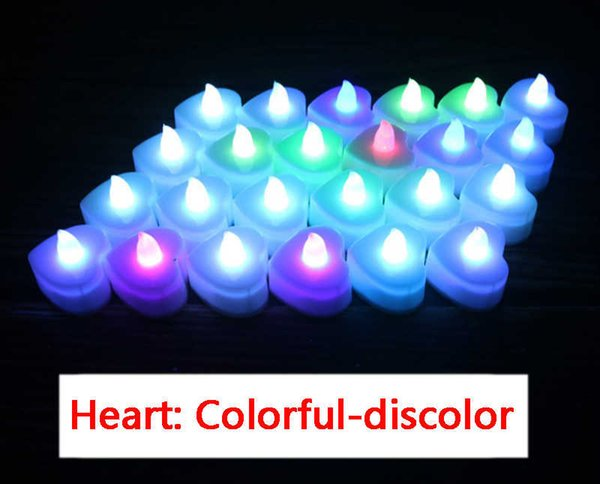 Heart Colorful discolor