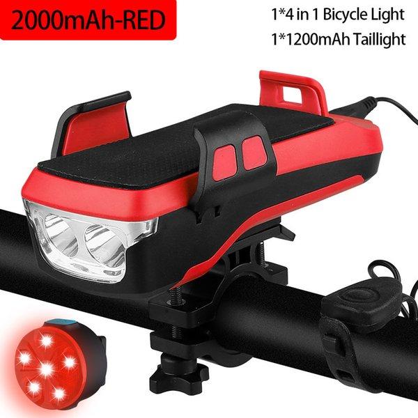 2000mah Red Set