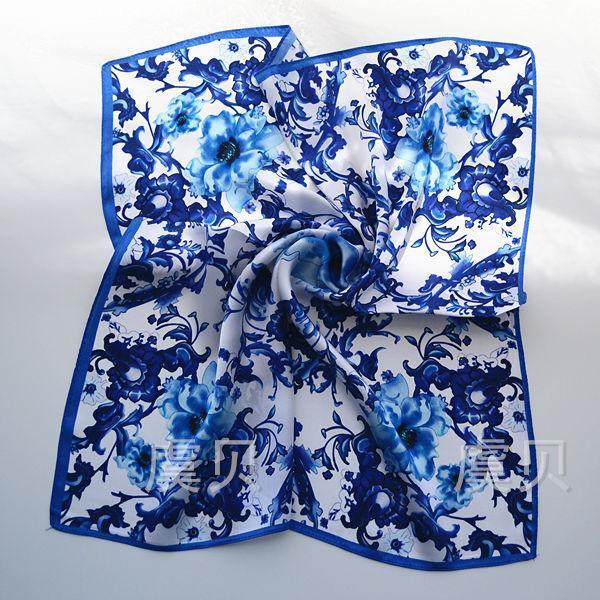 Bleu Chine Taille unique