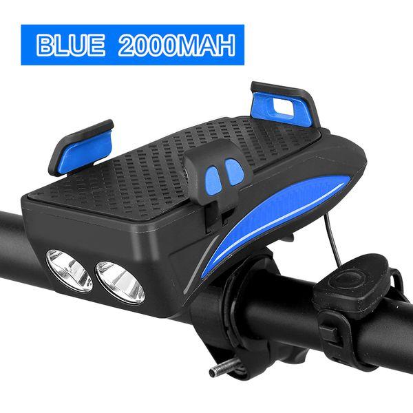 Blue 2000mah