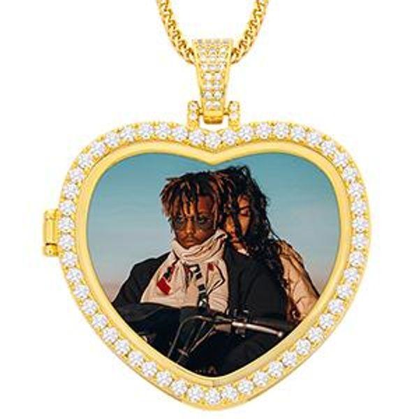 Heart Gold Heart 1 Cadena de cuerda China 18 pulgadas