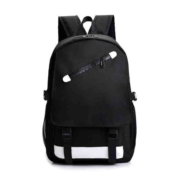 best selling New Fashion Backpack Outdoor Traveling Letter Printed School Bags for Men Women Students Backpacks Unisex Double Shoulder Bag