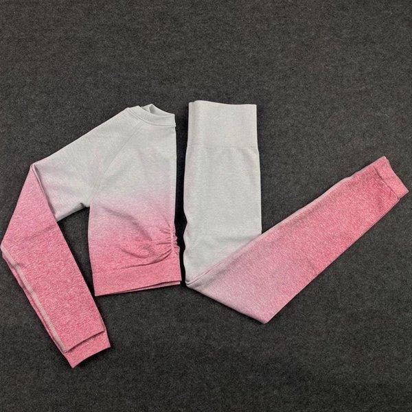 2pcs Set Pink