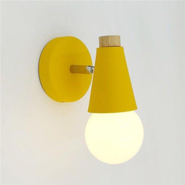 노란색 6W의 따뜻한 흰색