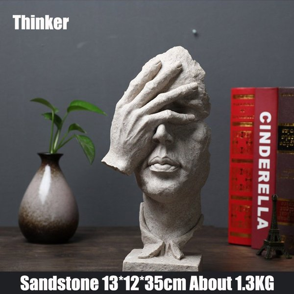 Thinker Sandstein