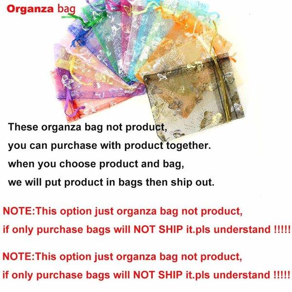 Organza Beutel (nur bestellen Tasche Nicht-Schiff)