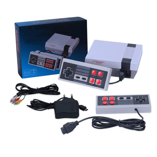 best selling Mini TV Game Player Can Store 620 500 Game Console Video Handheld for NES games Consoles with retail boxs