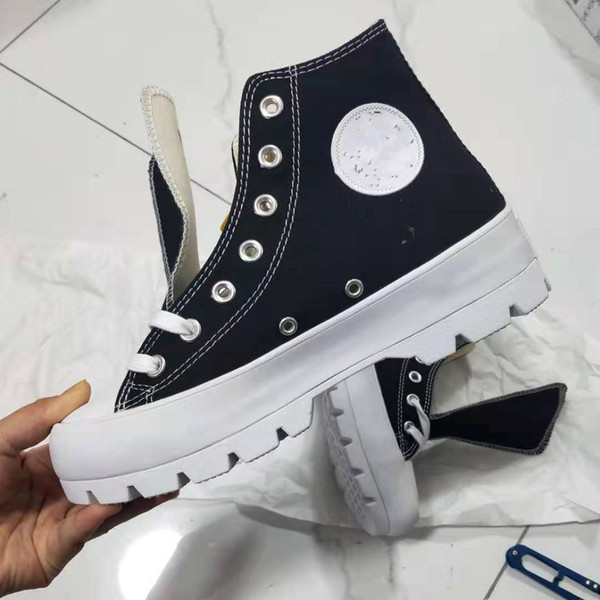 top popular 2020 high-quality new Chuck leather platform running shoes Taylor 2020 canvas men and women fashion lightweight casual shoes qq 2021