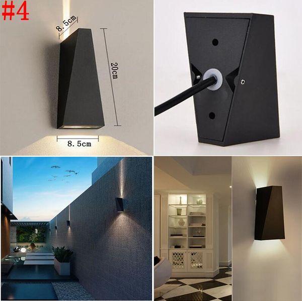 # 4 6 Вт водонепроницаемый настенный светильник