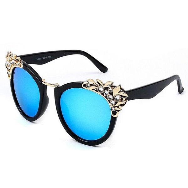 Bleu noir brillant