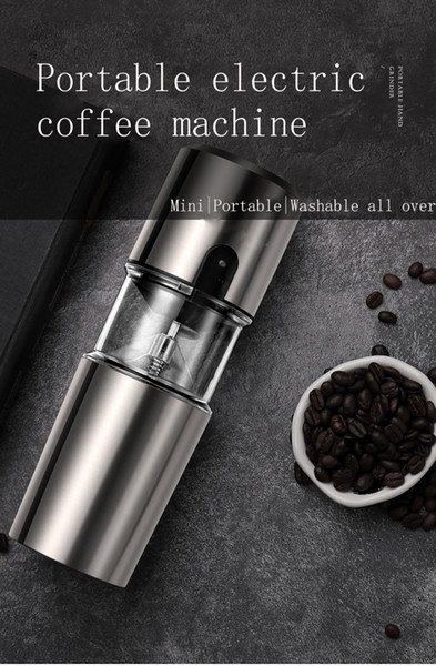 best selling Portable Coffee Machine Cup Office Household Outdoor Coffee Maker Automatic Coffee Machine Cup usb One-button Operation