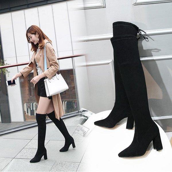 Low-heel black