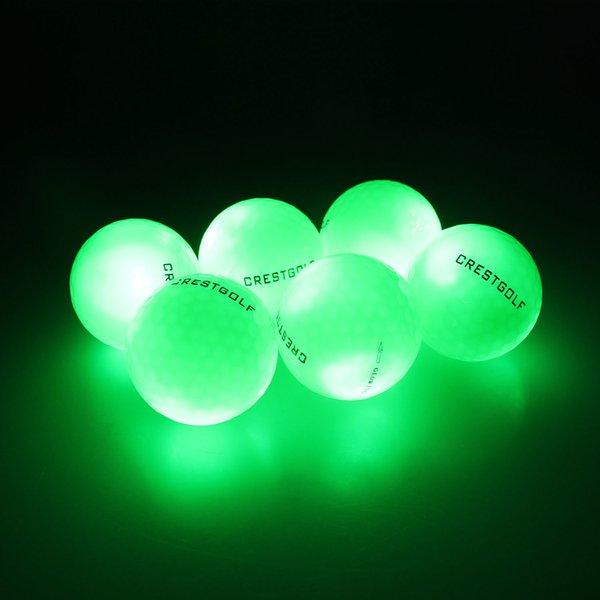 Green Golf Balls