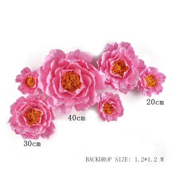 حار الوردي 6PCS.