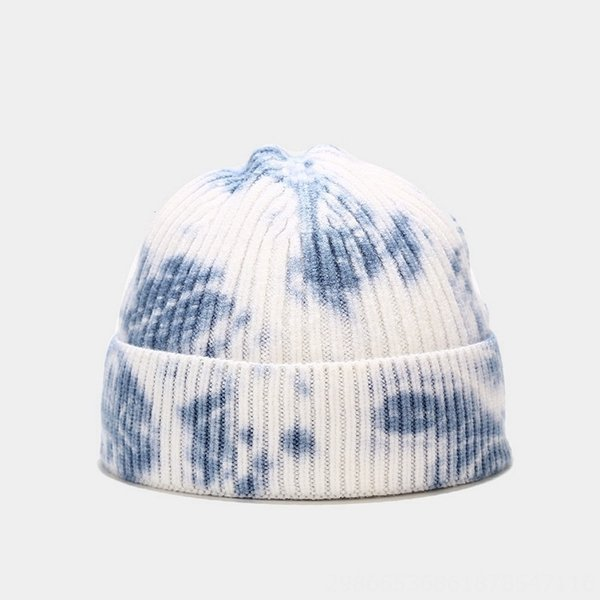 Blue And White Tie Dye-M(56-58cm)