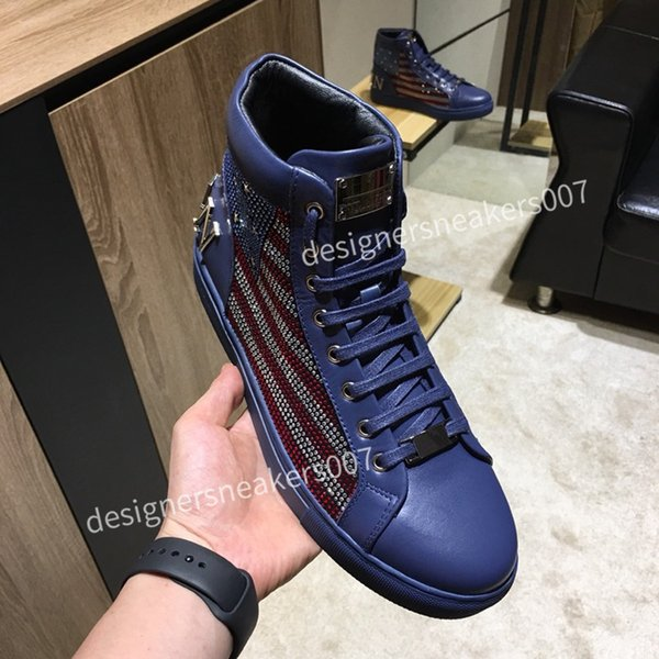 the Man latest small dirty shoes dirty, soft and comfortable, fashionable high-rise sports shoes cy190801