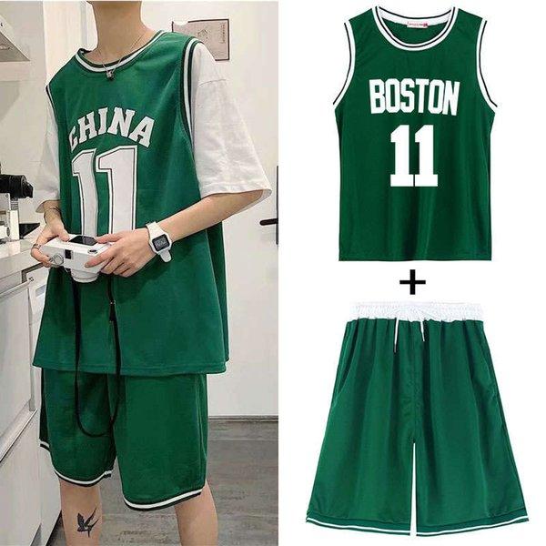 2005 Boston Green Suit (colete + shorts)