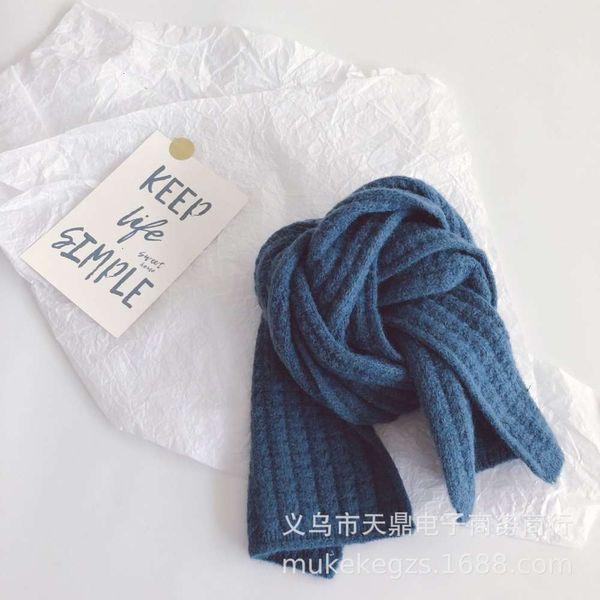 Bufanda de maíz azul (niños)