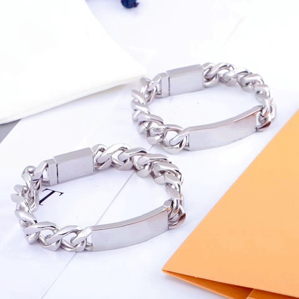 best selling Four Style Bracelet Unisex Chain Bracelet High Quality Titanium Steel Bracelets Stainless Steel Bracelet Personality Fashion Jewelry Supply