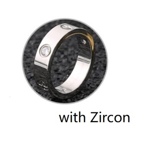 Argent avec zirconium