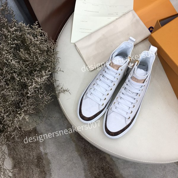 2021new Woman suede fashion Oversize sneakers leather shoes leather shoes increase Men And Women size dc190921