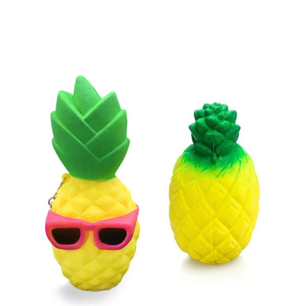 Mix Pineapple And Sunglasses Pineapple