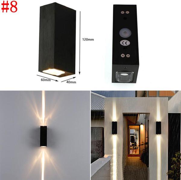 # 8 6 Вт водонепроницаемый настенный светильник
