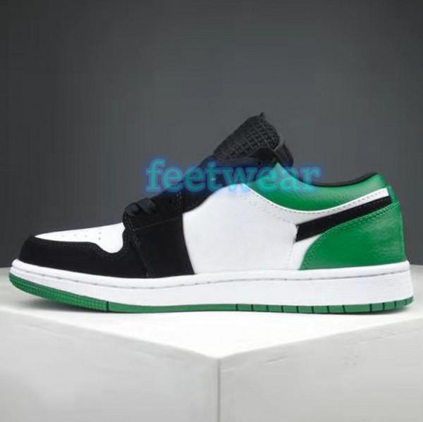 34.white black mystic green