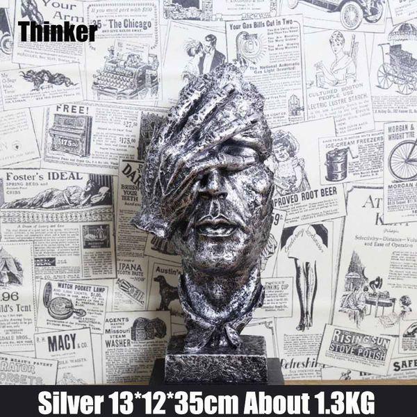 Thinker Silber