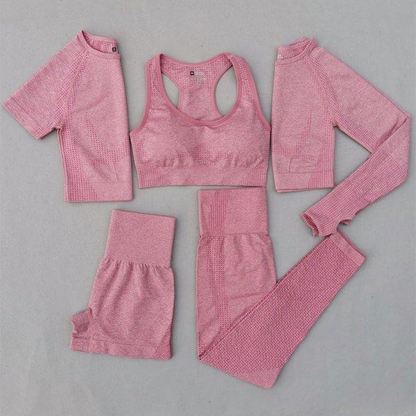 Pink 5 Pcs Set
