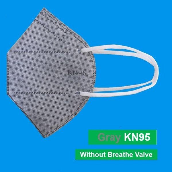 Máscara gris sin válvulas