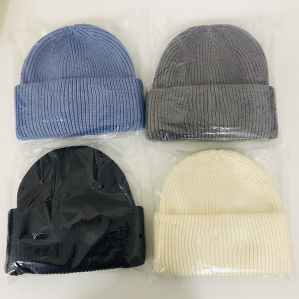 top popular Warm Beanie Man Woman Skull Caps Fall Winter Breathable Fitted Bucket Hat Cap Good Quality XGZV 2021