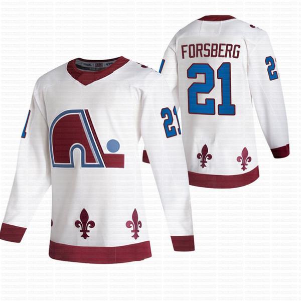 21 Peter Forsberg.