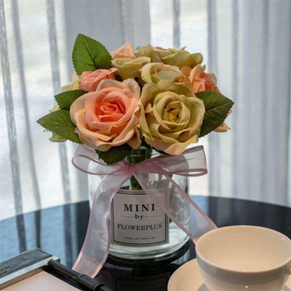 Rosengrünes Pulver