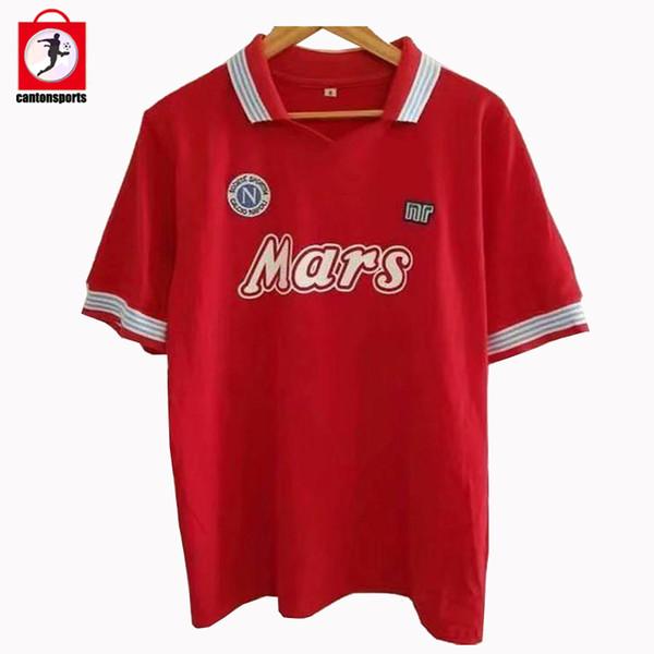 Napoli Retro 88-89 Terceiro Vermelho