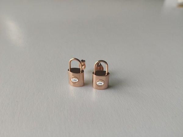 or Earrings_rose