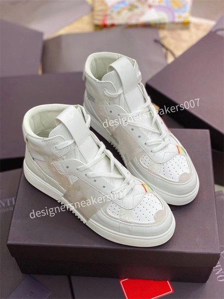 2021Mans latest small dirty shoes dirty, soft and comfortable, fashionable high-rise sports shoes fs201010