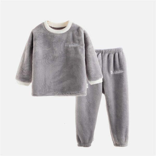 Flannel Long Grey