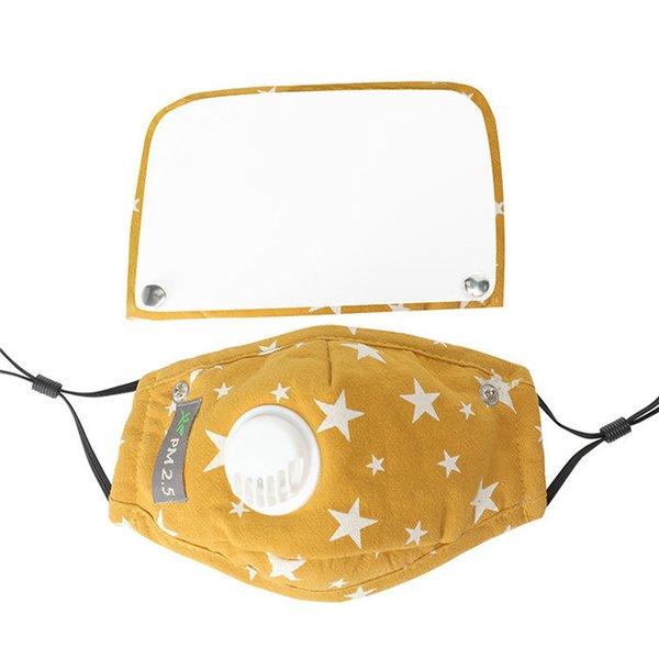 Escudo Eye Amarelo-removível