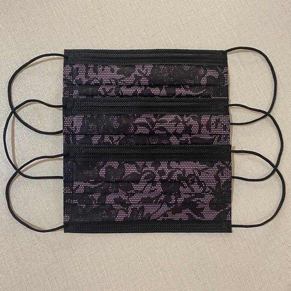 Mel intermedio púrpura de encaje-tres