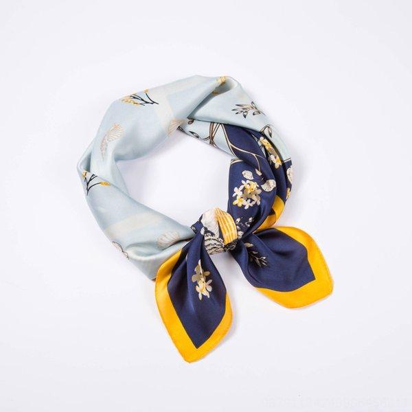 Flor de concha azul
