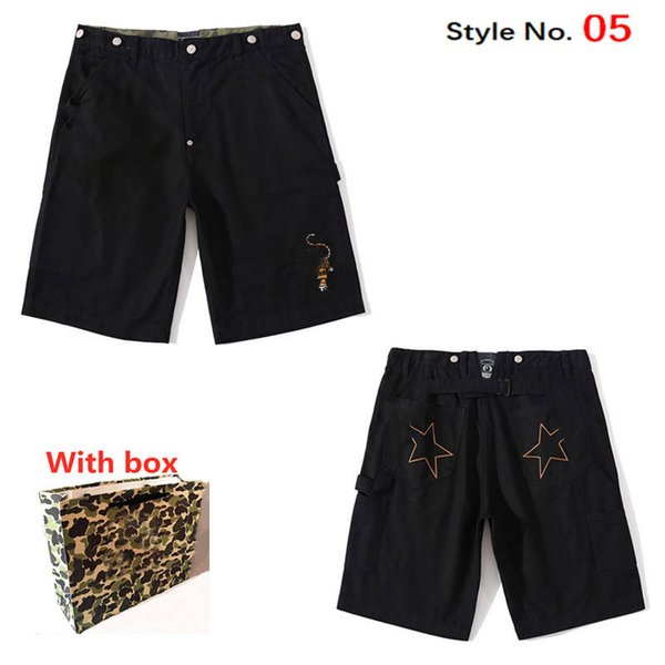 best selling 2021 fashion Women shorts quick-drying girl swimming camouflage Luminous Shark Headbeach striped casual pants with label box