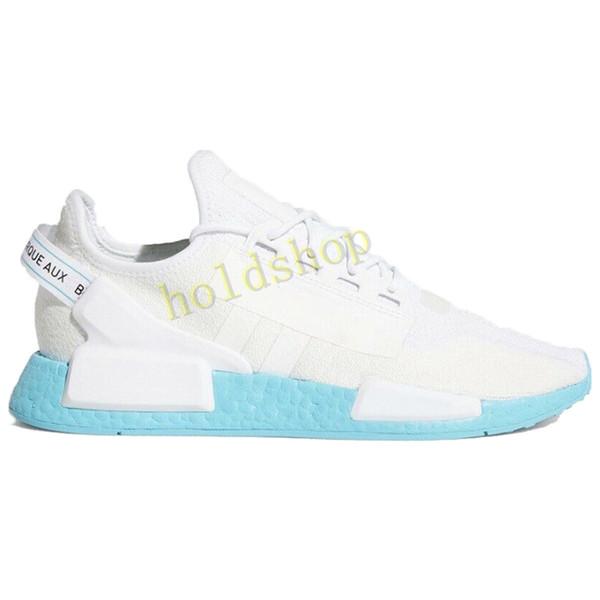 18 azul blanco