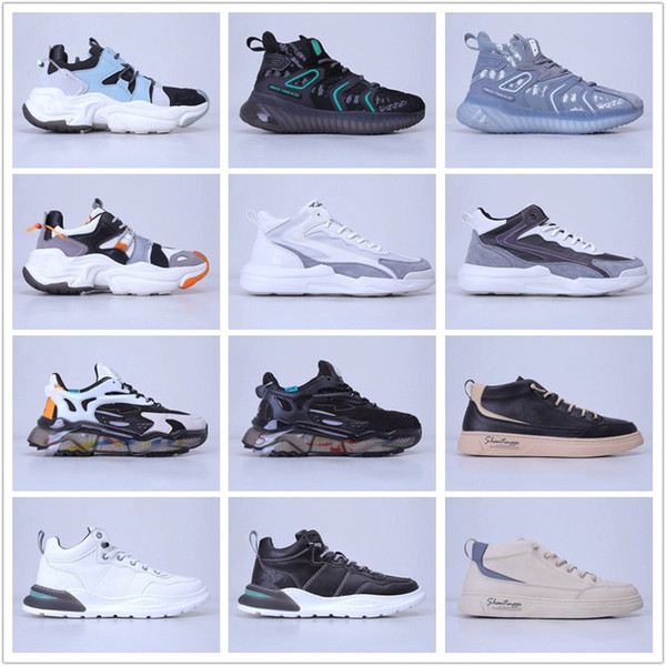 top popular 2021 AD Superstar II Mens Running Shoes Brushed Breathable Casual Jogging Sneakers Sports Trainers Designer Hiking Shoes 2021