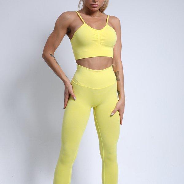 Amarillo (sujetador + pantalones)