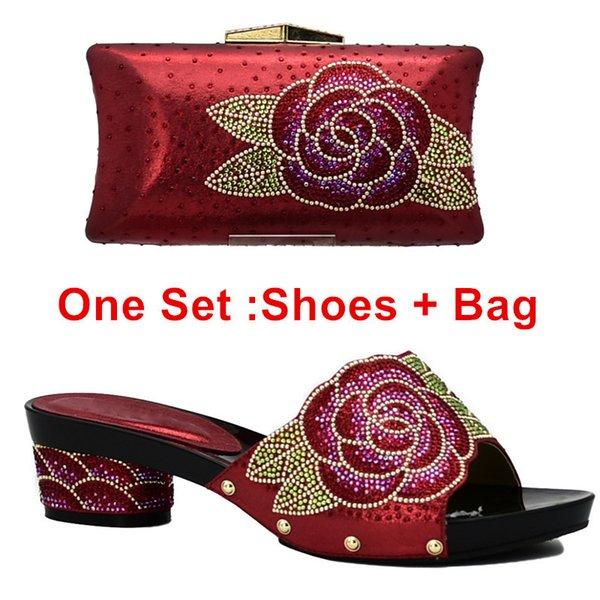 Zapatos rojos ang bolsa ang