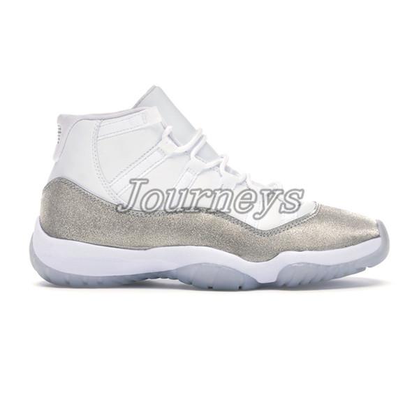 23. Bianco argento metallico